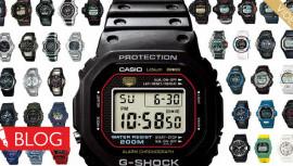Krótka historia przodownika. Jak płynął czas zzegarkami Casio G-Shock