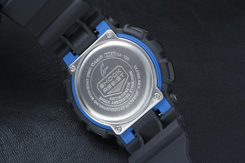 CASIO G-SHOCK G-CLASSIC GA 100-1A2